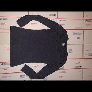 32 Degrees Heat Dark Gray Long Sleeve Shirt